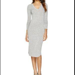 Aritzia Wilfred FREE midi v dress - XS